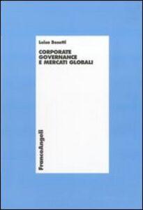 Corporate governance e mercati globali