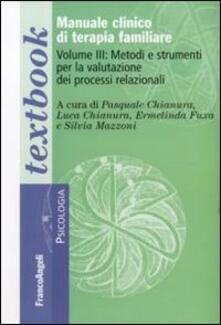 Antondemarirreguera.es Manuale clinico di terapia familiare. Vol. 3: Metodi e strumenti per la valutazione dei processi relazionali. Image