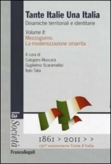 Secchiarapita.it Tante Italie una Italia. Dinamiche territoriali e identitarie. Vol. 2: Mezzogiorno. La modernizzazione smarrita. Image