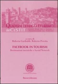 Radiospeed.it Facebook in tourism. Destinazioni turistiche e social network Image