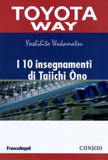 Squillogame.it I 10 insegnamenti di Taiichi Ono Image