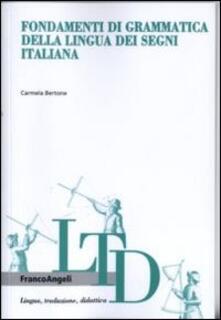 Amatigota.it Fondamenti di grammatica della lingua dei segni italiana Image