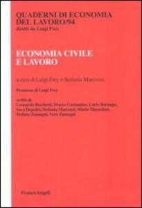 Economia civile e lavoro