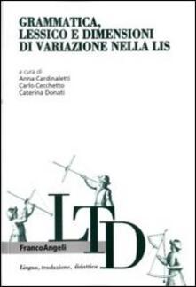 Birrafraitrulli.it Grammatica, lessico e dimensioni di variazione nella LIS Image