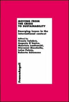 Moving from the crisis to sustainability. Emerging issues in the international context - copertina