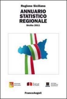 Annuario statistico regionale. Sicilia 2011 - copertina