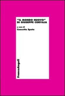 Il mondo nuovo di Giuseppe Corvaja - copertina