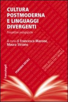 Cultura postmoderna e linguaggi divergenti. Prospettive pedagogiche - copertina