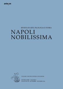 Napoli nobilissima (2016). Settima serie. Vol. 2\3: Settembre-Dicembre 2016.
