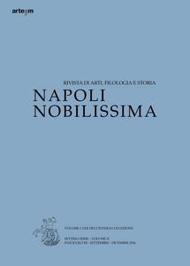 Libro Napoli nobilissima (2016). Settima serie. Vol. 2\3: Settembre-Dicembre 2016.
