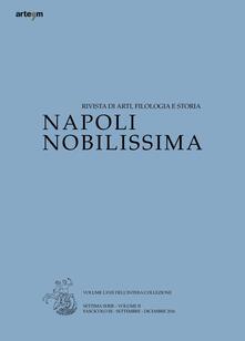 Napoli nobilissima (2016). Settima serie. Vol. 2\3: Settembre-Dicembre 2016. - copertina