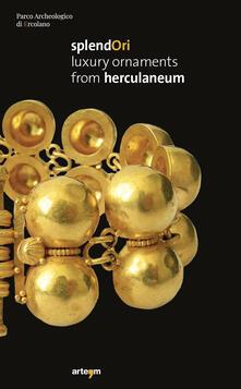 Splendori. Luxury ornaments from Herculaneum - copertina