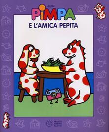 Pimpa e l'amica Pepita. Con video libro. Ediz. illustrata - Altan - copertina