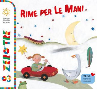 Rime per le mani. Con CD Audio - Chiara Carminati,Simona Mulazzani,Giovanna Pezzetta - copertina
