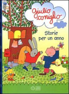 Libro Giulio Coniglio storie per un anno Nicoletta Costa