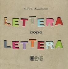 Lettera dopo lettera - Àngels Navarro - copertina