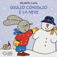 Giulio Coniglio e la neve - Nicoletta Costa - copertina