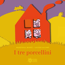 I tre porcellini. Mini pops - Maritxell Martí,Xavier Salomó - copertina