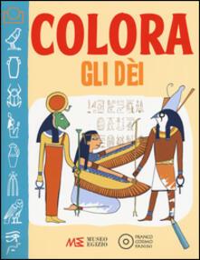Colora gli dei - Federica Facchetti,Aurora Cacciapuoti - copertina