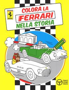 Colora la Ferrari nella storia - copertina
