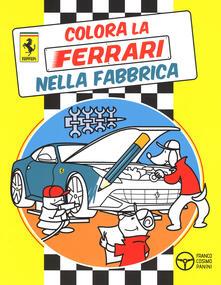 Colora la Ferrari nella fabbrica - copertina