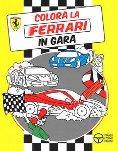 Libro Colora la Ferrari in gara