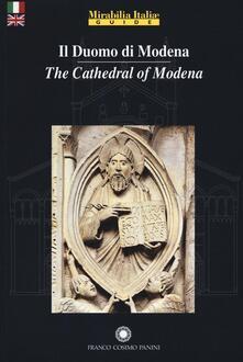 Il duomo di Modena. Ediz. italiana e inglese - copertina