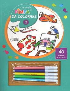 Il mondo di Pimpa da colorare. Ediz. illustrata. Con Gadget. Vol. 1