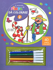 Il mondo di Pimpa da colorare. Ediz. illustrata. Vol. 2