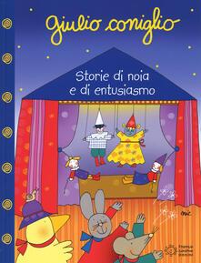 Giulio Coniglio. Storie di noia e di entusiasmo. Ediz. a colori - Nicoletta Costa - copertina