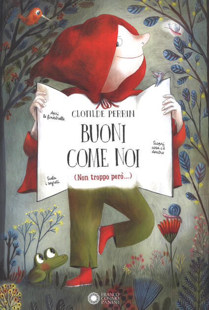 Buoni come noi (Non troppo però...). Ediz. a colori - Clotilde Perrin - copertina