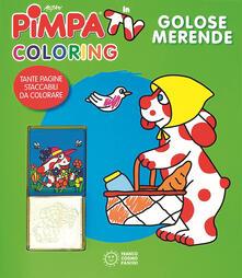 Vitalitart.it Golose merende. Pimpa in tv. Coloring. Ediz. illustrata. Con gadget Image