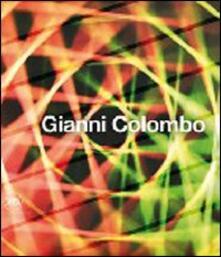 Gianni Colombo - copertina