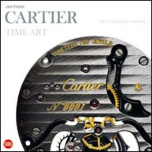 Libro Cartier time art. Ediz. spagnola Jack Forster