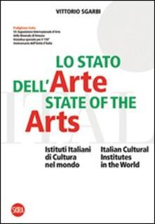 Lo stato dell'arte-State of the Arts - Vittorio Sgarbi - copertina