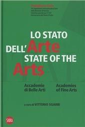 Lo stato dell'arte. Accademia di belle arti. Ediz. italiana e inglese