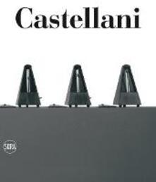 Enrico Castellani. Catalogo ragionato 1955-2005. Ediz. italiana e inglese - copertina