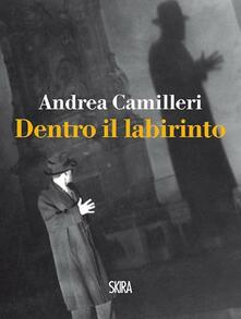 Dentro il labirinto - Andrea Camilleri - copertina
