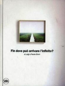 Fin dove può arrivare l'infinito - Giorgio Messori,Arturo C. Quintavalle - copertina