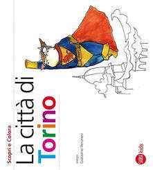 Voluntariadobaleares2014.es La città di Torino. Scopri e colora Image