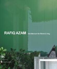 Rafiq Azam. Architecture for green living - copertina