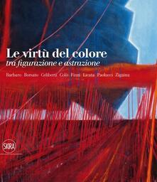 Le virtù del colore tra figurazione e astrazione - copertina