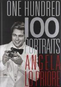 Libro One hundred portraits. Ediz. italiana e inglese Angela Lo Priore