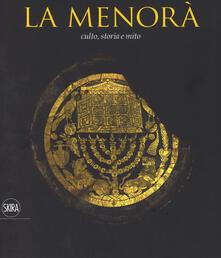 Promoartpalermo.it La Menorà. Culto, storia e mito. Ediz. italiana e inglese Image
