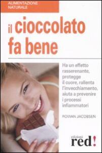 Il cioccolato fa bene. Ha un effetto rasserenante, protegge il cuore, ralllenta l'invecchiamento, aiuta a prevenire i processi infiammatori