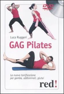 Antondemarirreguera.es Gag pilates. La nuova tonificazione per gambe, addominali, glutei. DVD Image