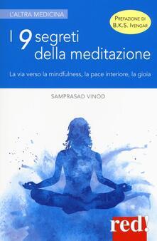 Amatigota.it I 9 segreti della meditazione. La via verso la mindfulness, la pace interiore, la gioia Image