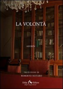 Libro La volontà Azorín