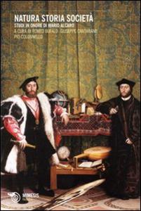Libro Natura, storia, società. Studi in onore di Mario Alcaro