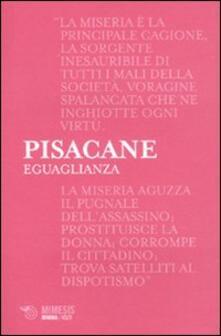 Eguaglianza - Carlo Pisacane - copertina